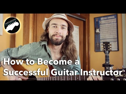 How to Become a Successful Guitar Instructor