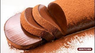사르르~ 5초컷?푸딩푸딩한 초콜릿 푸딩 케이크 만들기?