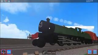 Roblox Grand Continental Railways steam trains testing