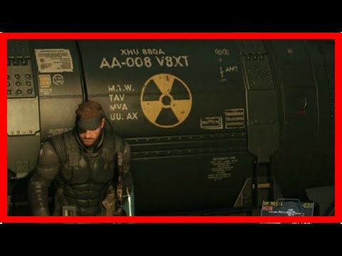 Konami apologizes for announcing nuclear disarmament (in Metal Gear Solid V) by BuzzFresh News