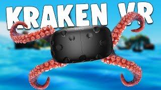 UNLEASHING the MIGHTY OCEAN KRAKEN and DESTROYING PIRATE SHIPS! - Kraken VR - HTC Vive