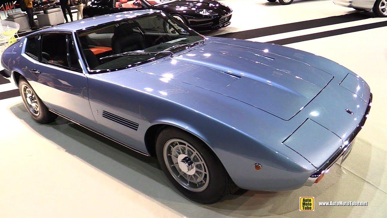 1971 Maserati Ghibli 4.9 SS Walkaround - YouTube