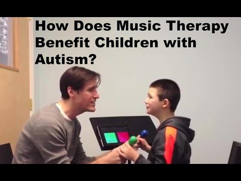 How Does Music Therapy Benefit Children with Autism?
