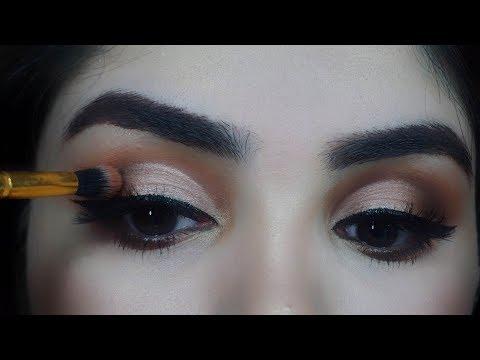 How to apply eyeshadow for beginners as a PRO in Urdu/Hindi