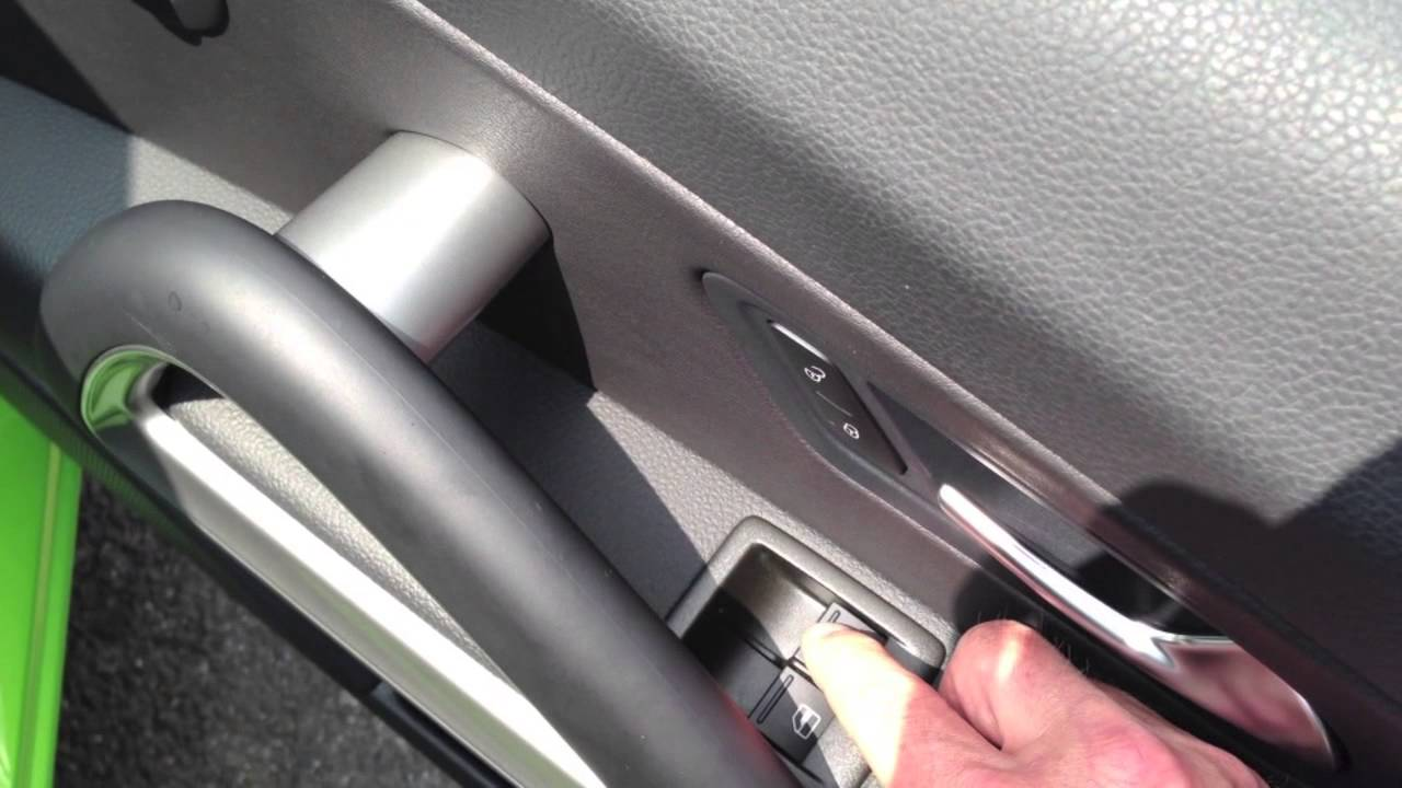 VW Volkswagen One Touch auto window resetting