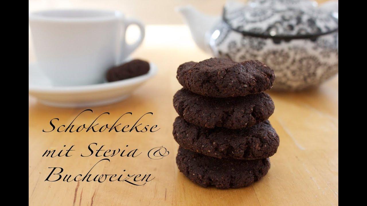 Rezept Zartbittere Schoko Mandel Buchweizen Kekse Mit Stevia Ohne