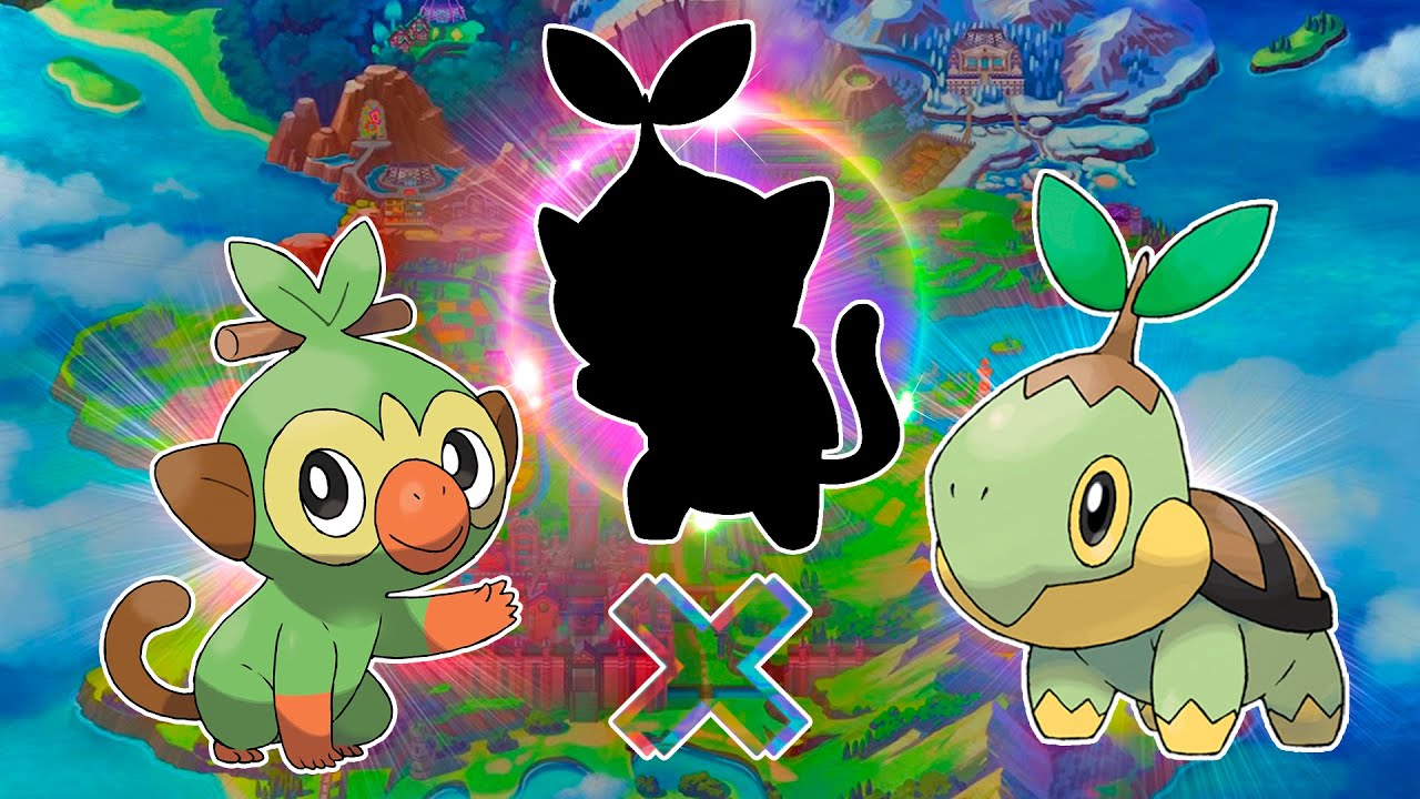 Sinnoh And Galar Fused Turtwig And Grookey Line Fused Pokemon Youtube Along with scorbunny and sobble. sinnoh and galar fused turtwig and grookey line fused pokemon