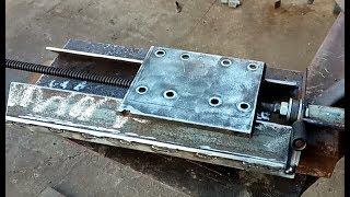 як зробити супорт токарного верстата по металу