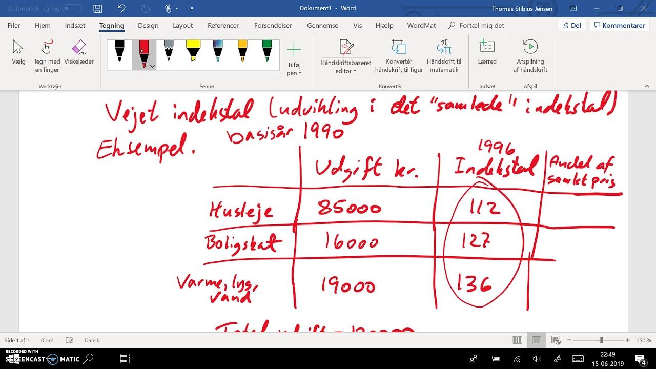 spg 3 - del 4: indekstal og vejet indekstal