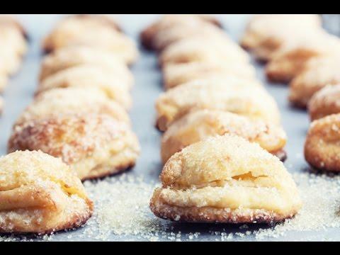 Печенье из творога. Творожные ушки – кулинарный рецепт с