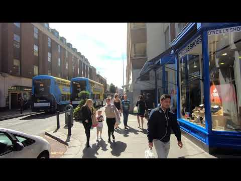 Walking Around Dublin. Talbot Street, N Earl Street. Дублин, Ирландия. ORANGE Ua