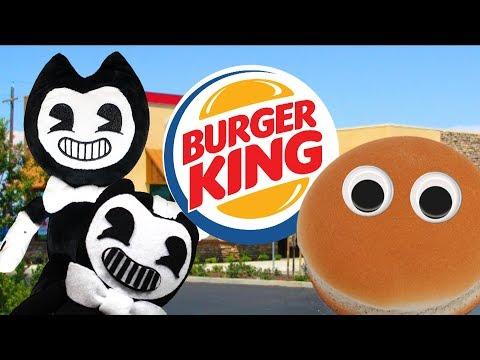 MMA Movie: Bendy's Job at Burger King (BATIM Plush)
