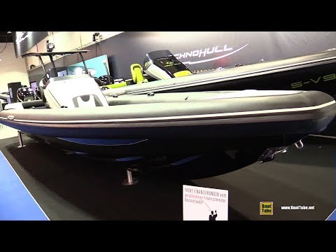 2018 Technohull Sea DNA 999 G5 Inflatable T-Top Boat - Walkaround - 2018 Boot Dusseldorf Boat Show