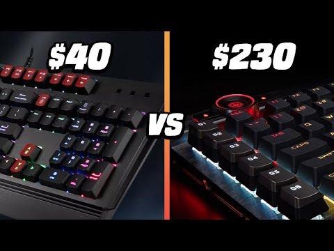 $230 VS $40 Gaming Keyboard - Corsair K100 VS MSI Vigor GK20 - Is It Worth It?