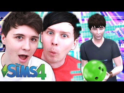 DIL'S BOWLING DESTRUCTION - Dan and Phil Play: Sims 4 #40