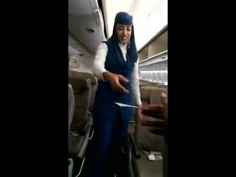 Saudi Arabian airlines ( business class, and economic class sits)