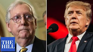 Trump BLASTS McConnell: 'He was two points down last election until my endorsement'