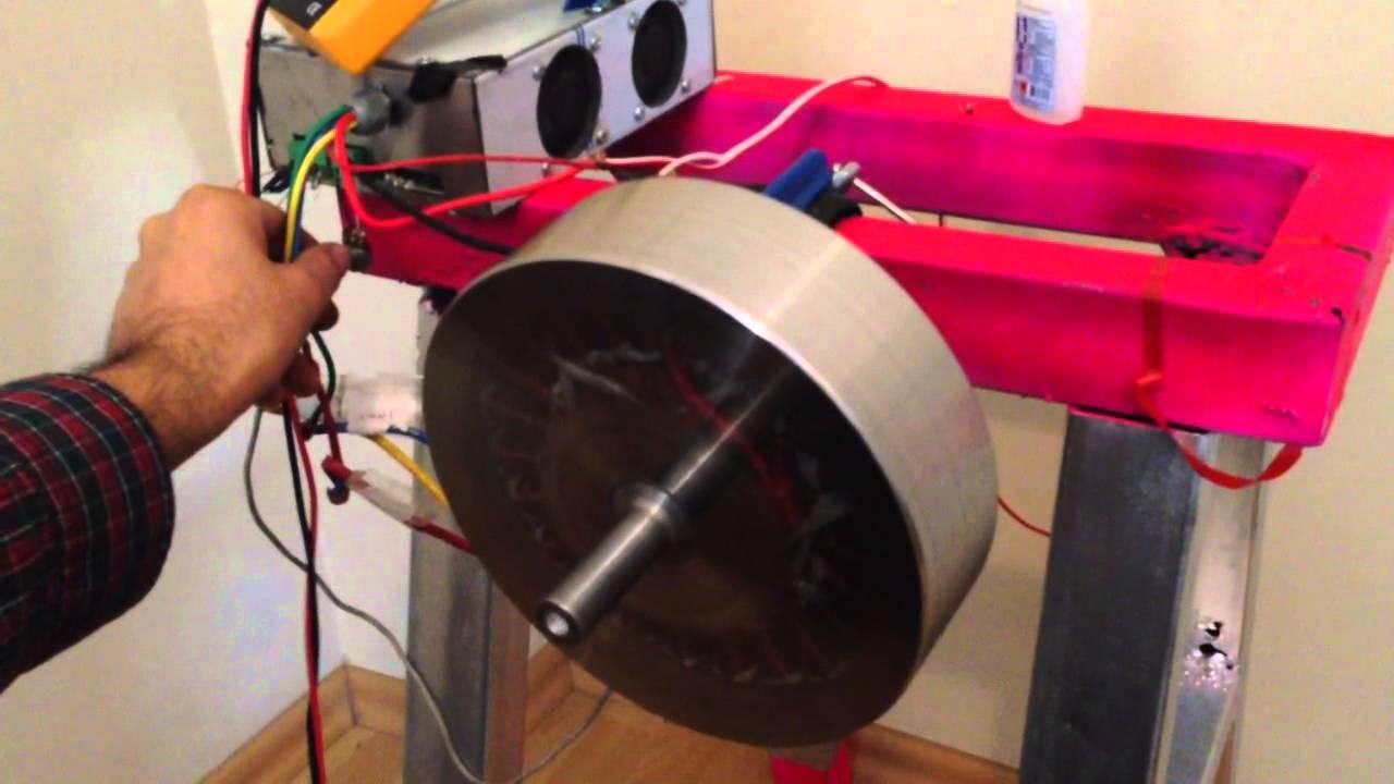 Bldc Motor Diy 96 Volt