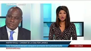Présidentielle RDC - Martin Fayulu ne reconnaît pas les résultats de l'élection, dénonçant un putsch