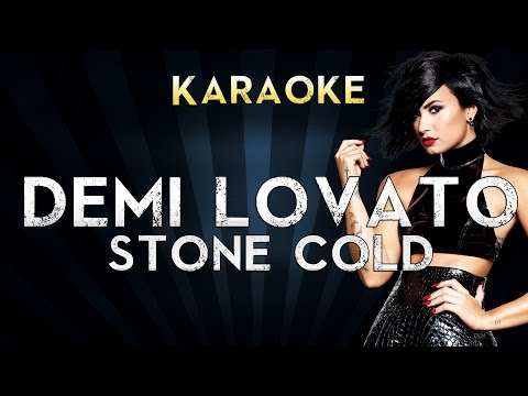 Demi Lovato - Stone Cold | Official Karaoke Instrumental Lyrics Cover Sing Along