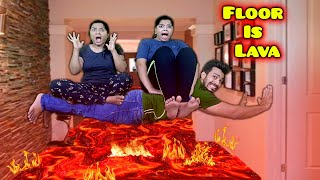 Extreme Floor Is Lava Challenge | Hungry Birds