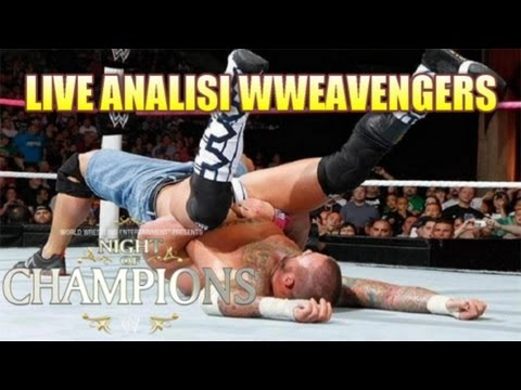 LIVE WWEAVENGERS #3: Analisi WWE Night of Champions 2012