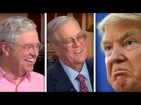 Koch Brothers Sabotage Trump's Big Plans