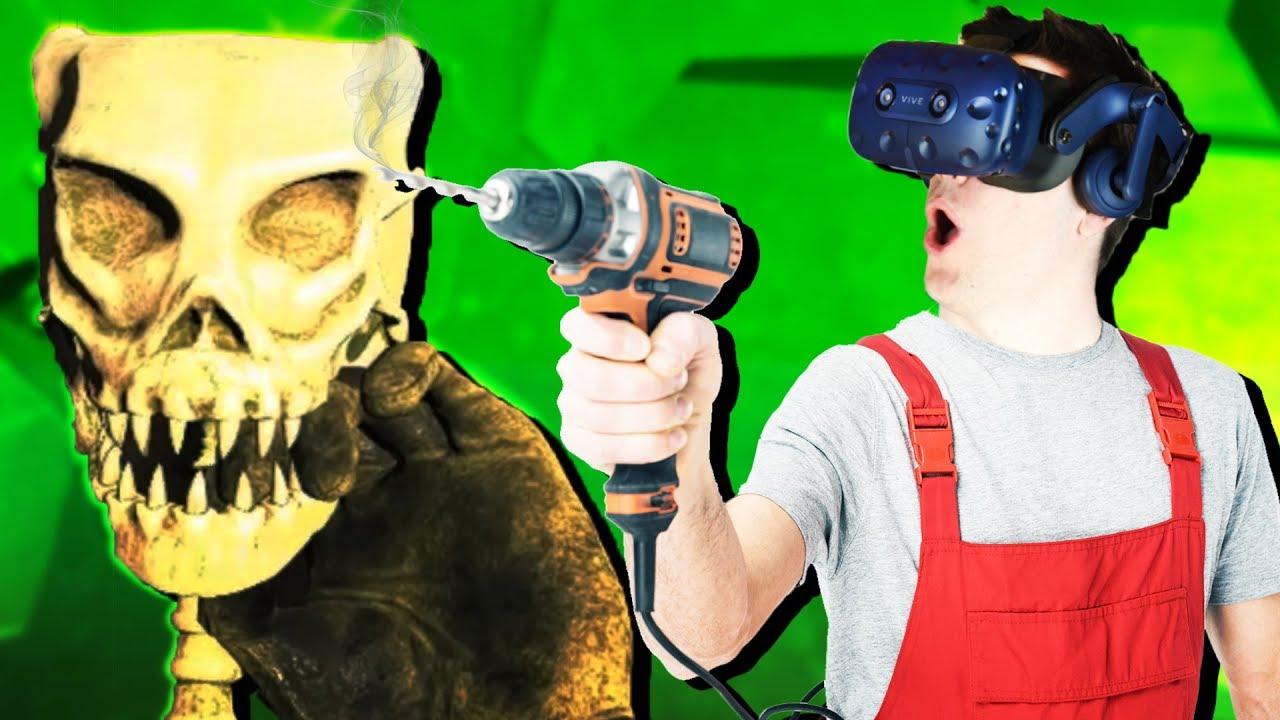 MINING FOSSILS in VIRTUAL REALITY! - Cave Digger Gameplay - VR HTC Vive Pro