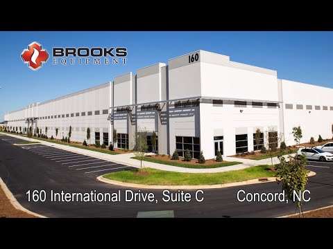 Brooks Equipment: Time Lapse Of New Warehouse