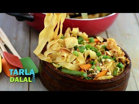 Malaysian Noodles by Tarla Dalal