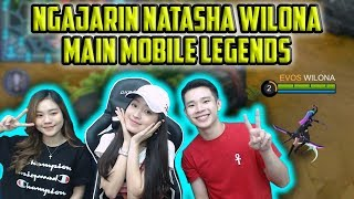 NATASHA WILONA MAIN MOBILE LEGENDS RANK NYA MYTHIC??