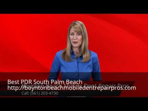 Mobile Dent Repair South Palm Beach (561) 203-4730 PDR