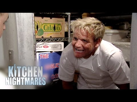 'They're Mouldy You Pillock!' - Kitchen Nightmares