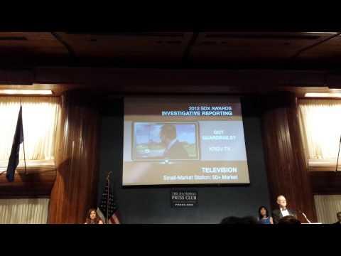 Sigma Delta Chi Award: Investigative Reporting