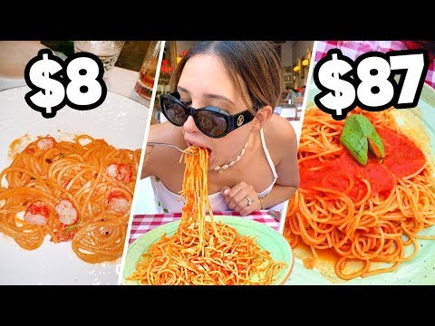 CHEAPEST vs MOST EXPENSIVE PASTA In ITALY 🇮🇹 The Best You've EVER Had | Mar