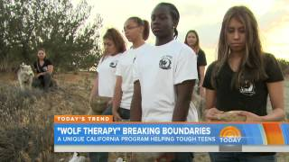 Wolf Connection's Youth Empowerment Programs On The Today Show