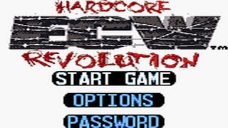 ECW Hardcore Revolution GBC First Impressions | Wrestling Game Review