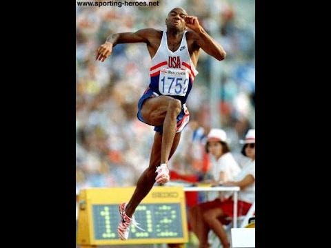 Mike Powell World Record Long Jump
