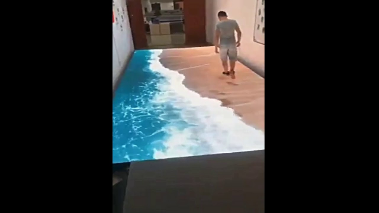 3d Illusion Floor Technology Youtube