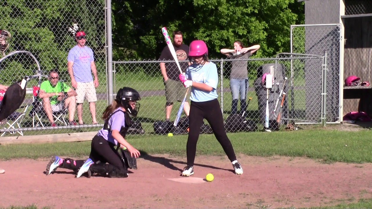 Chazy - Champlain-Rouses Point PeeWee Softball  6-11-18
