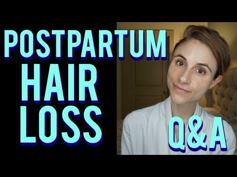 Postpartum hair loss Q&A with a dermatologist: hair care tips ������