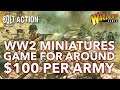Bolt Action WW2 Miniatures Game For $100 | Warlord Games