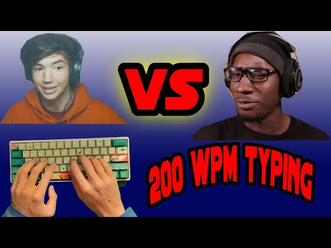 First to Five Typing Match vs Glarses! Typist vs Mechancal Keyboard YouTuber
