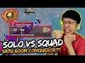 1 MATCH SQUAD SAMA CONQUEROR TRY HARD!! | PUBG MOBILE