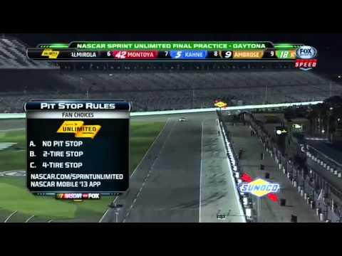2013 NSCS Sprint Unlimited Practice #2 (Happy Hour) @ Daytona