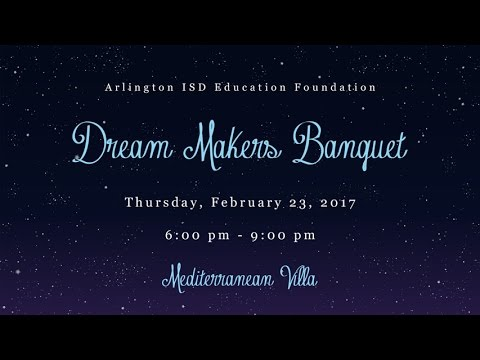 2017 Dream Makers Banquet - YouTube