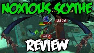 Noxious Scythe Review + T90 Melee Comparison! [Runescape 2015]