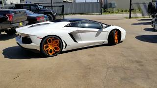 Lamborghini Aventador with LOMA RB1-SL Superlight Wheels by AWT Motorsports