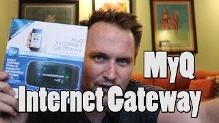 setting up myq internet gateway garage door opener in less than 4 minutes bing err