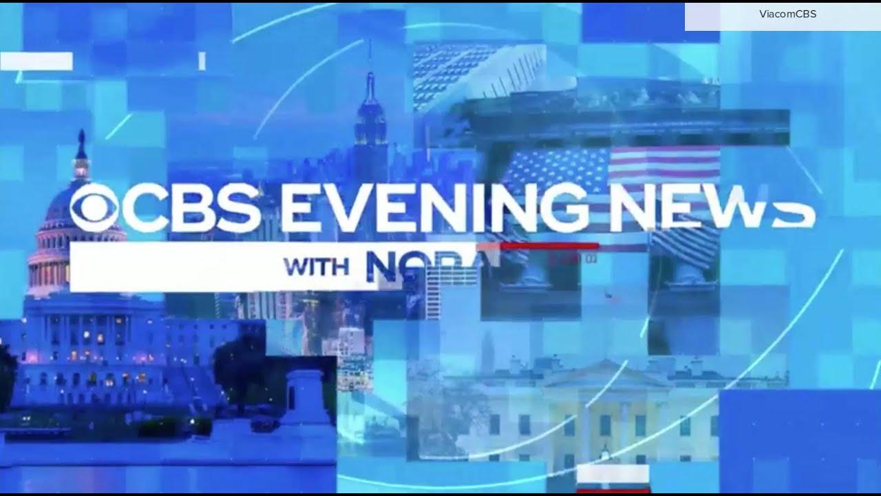 'CBS Evening News' election 2020 open